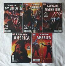Captain America Vol.1 #611-615   Ed Brubaker   MARVEL Comics (VFN)