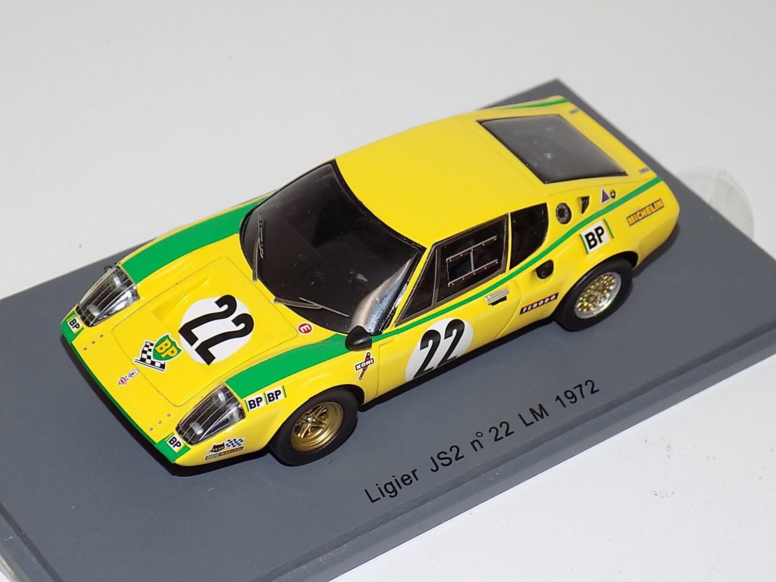 1   43 funke ligier js2 js2 js2 auto   22 1972 24 stunden s0544 lemans c2c36a