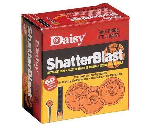 Daisy 990873406 Shatterblast Breakable Refill Target 2 Inch Disks 60 Pack