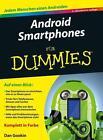 Android Smartphones für Dummies von Dan Gookin (2016, Taschenbuch)