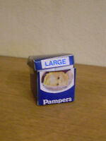 Dollshouse Miniature Pampers Box Of Nappies