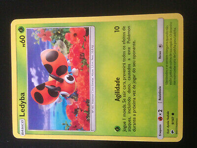 Ledyba 9//147  Sun /& Moon Burning Shadows Common Mint//NM Pokemon