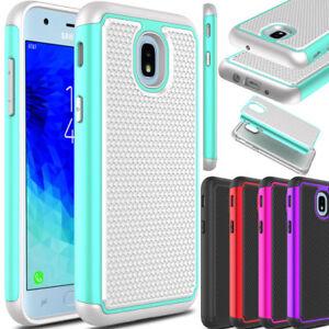 For-Samsung-Galaxy-J3-2018-Express-Prime-3-Shockproof-Hard-Slim-Armor-Case-Cover
