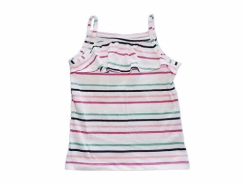 NWT Gymboree Girls Hop N Roll Ruffle Tank Top 6-12 12-18 18-24 M 2T 3T 4T /& 5T