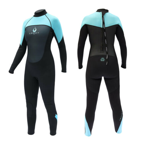 2mm Donna Completo WETSUIT SURF onorevoli STEAMER Swim lungo WET SUIT XS-L LEGACY 3