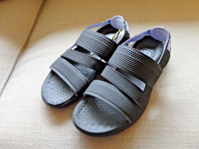 b14b84f8b101 Buy Women s JAZIRA Slide Sandal C9 Champion Black 6 Comfortable Triple-strap  online