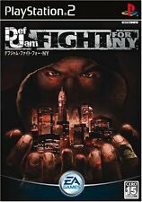 Used PS2 DEF JAM FIGHT FOR NY New York Import Japan、