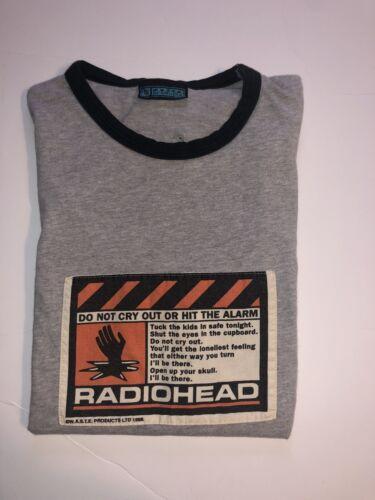 radiohead t shirt vintage