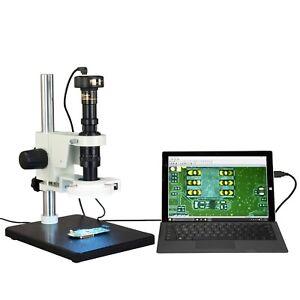 OMAX-Inspection-Zoom-7X-90X-Stereo-Microscope-1-3MP-USB-Camera-56-LED-Light