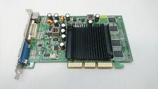 PNY nVidia GeForce 6200 256MB DVI VGA S-Video AGP 8x Graphics Card GPU