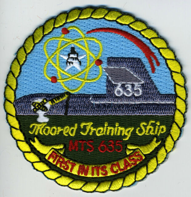 MTS 635 Moored Training Sub BC Patch Cat No C6628