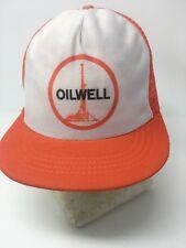 item 3 OILWELL Oil Field Drilling Snapback Foam Mesh Trucker Baseball Hat  Cap Orange -OILWELL Oil Field Drilling Snapback Foam Mesh Trucker Baseball Hat  Cap ... 811b1750bffb
