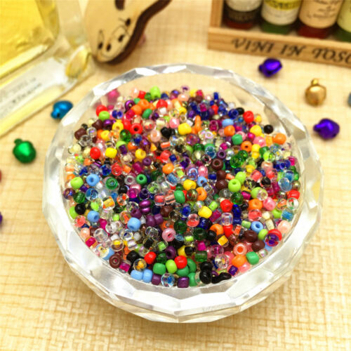 1000Pcs Mixed Czech Glass Seed Round Loose Spacer Beads Jewelry Finding DIY 2MM