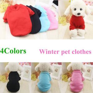 Small-Pet-Vest-Puppy-Clothes-Dog-Cat-T-Shirt-Princess-Outfit-Apparel-Costume