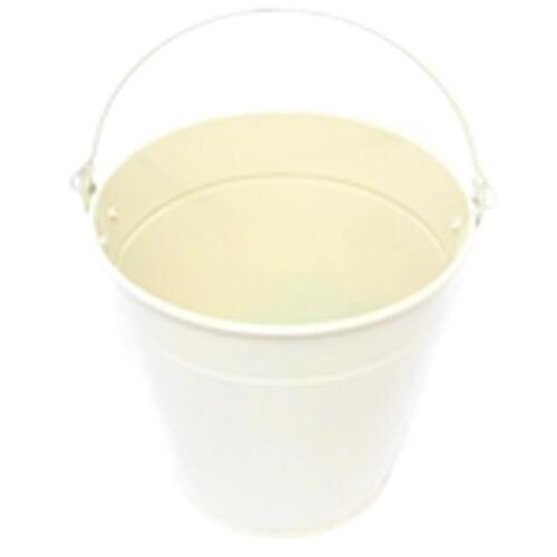 Table Decoration Cream Home Garden Planter Metal Bucket