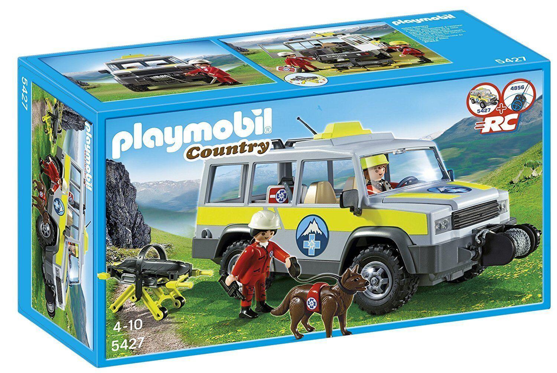 Playmobil 5427 - Vehículo de Rescate de Montaña - NUEVO