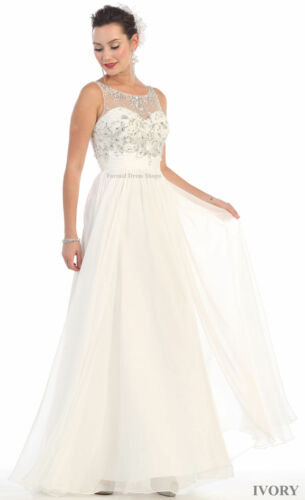 SALE ! NEW PROM SPECIAL OCCASION EVENING DRESS SIMPLE WEDDING GOWN FORMAL DANCE