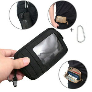 Waterproof-Tactical-EDC-Pouch-Portable-Key-Purse-Coin-ID-Card-Wallet-Keychain