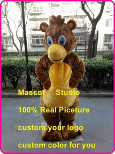Details about  /Bear Mascot Costume Cosplay Party Game Fancy Dress Outfit Advertising Adult Suit