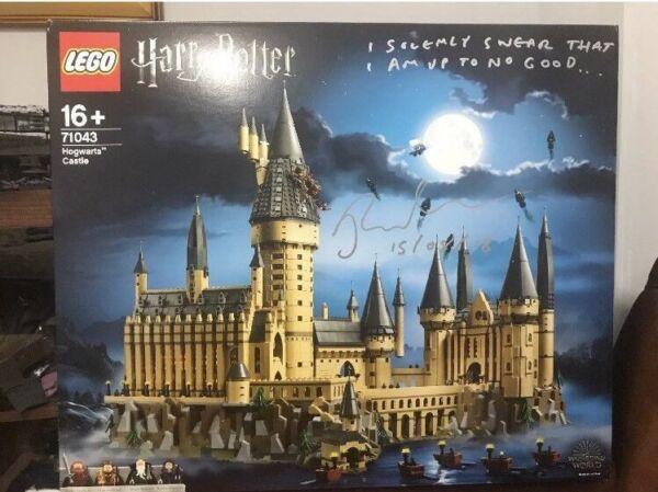 * Signé * Lego Harry Potter 71043 Hogwarts Castle Dans Le Monde Entier Livraison * Neuf * Bon Pour AntipyréTique Et Sucette De La Gorge