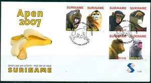 SURINAME-UITGAVE-2007-FDC-306-APEN-2007