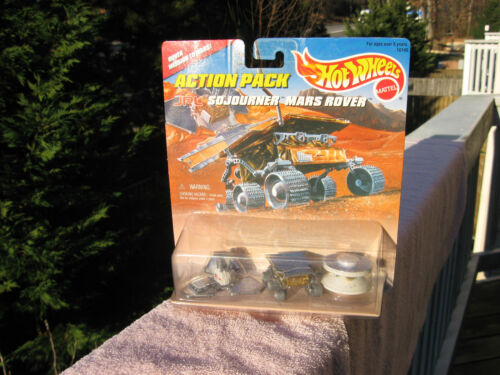 "Hot Wheels Action Pack ""JPL Sojourner Mars Rover"" 1996 New & Factory Sealed!"