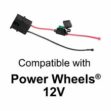 Wire Harness Connector for Fisherprice Power Wheels 12volt ... on 9 volt battery terminal, 9 volt power supply, 9 volt battery cover, 9 volt switch, 9 volt speaker,