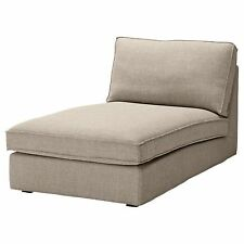 Ikea Kivik Chaise Lounge Slipcover Teno Light Gray Cover Grey Tenö 801.936.79  sc 1 st  eBay : chaise lounge slipcovers - Sectionals, Sofas & Couches