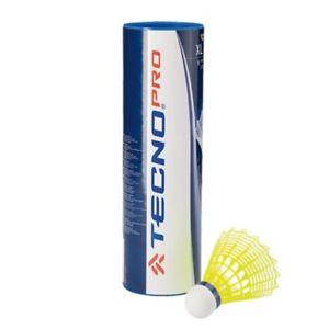 Original Tecno Pro Badminton Ball XL 400 Mittel 6er Pack gelb