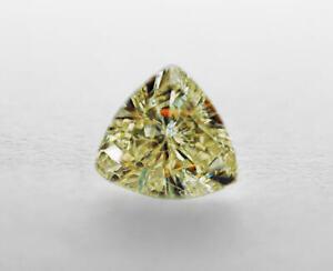 0-41-Carat-FL-4-90x4-19mm-NATURAL-Light-Champagne-DIAMOND-LOOSE-Trillion-Cut