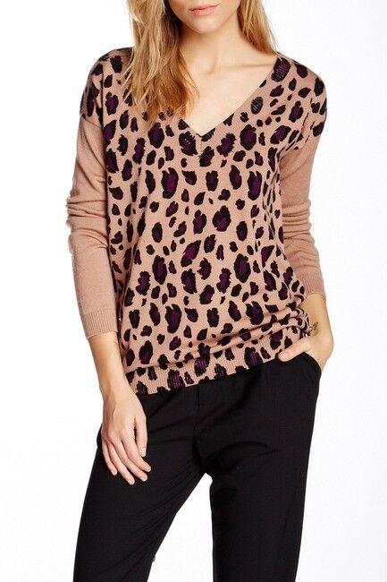 NWT Catherine Malandrino Nwt Jade Printed Wool S Sweater Size  6 (S)