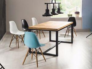 AuBergewohnlich Das Bild Wird Geladen Tisch Couchtisch Esszimmertisch Design  Massivholz 150x90 LORAS