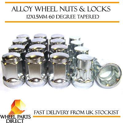 Locking Wheel Nuts 12x1.5 Bolts Tapered for Honda Civic Mk7 01-05
