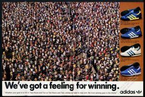 1980 Adidas Marathon 80 Trainer TRX Competition shoes photo vintage print ad
