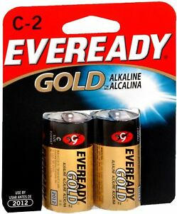 Eveready Gold Alkaline Batteries C 4-Count