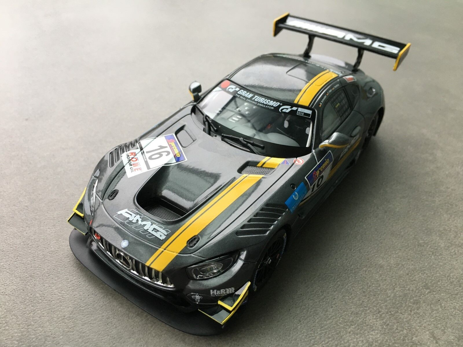 Carrera Digital 132 30767 Mercerdes-Amg GT3 Light Karosse + Chassis New