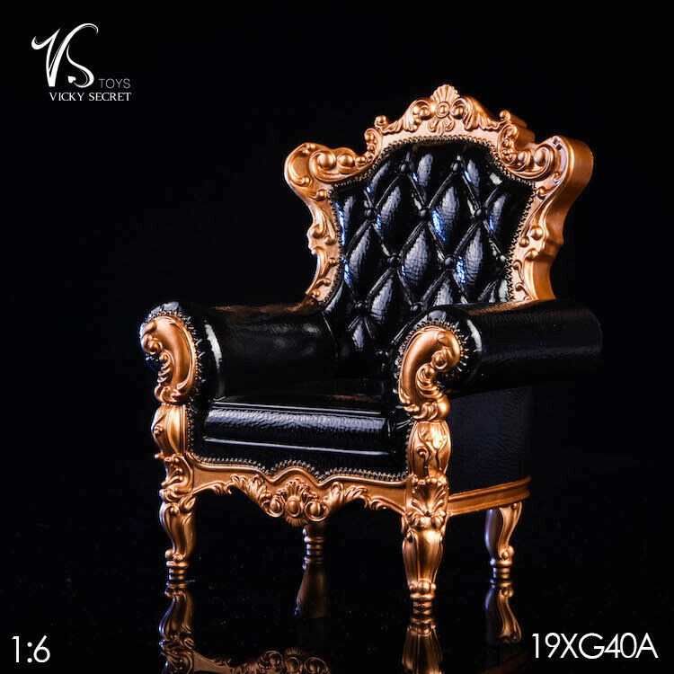 VSTOYS 19XG40 1 6 6 6 Single Sofa Chair Furniture Model Toy Fit 12'' Action Figure ab479f