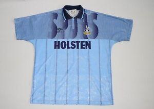 3d0bffa4fdf9 Image is loading TOTTENHAM-HOTSPUR-jersey-umbro-holsten-blue-shirt-kit-