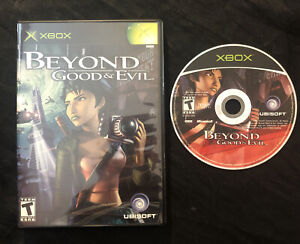 Beyond Good & Evil — Cleaned/Tested! Fast Shipping! (Microsoft Xbox, 2003) and