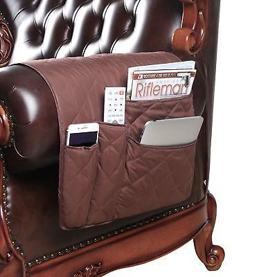 Anti Slip Armrest Caddy Pocket Organizer For Sofa Couch