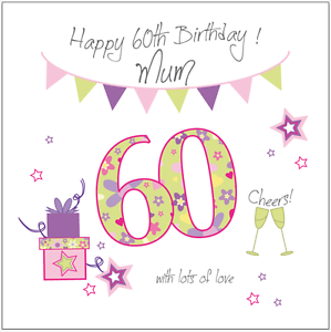 Personalised 60th birthday card mum gran grandma nan nana nanny image is loading personalised 60th birthday card mum gran grandma nan bookmarktalkfo Image collections