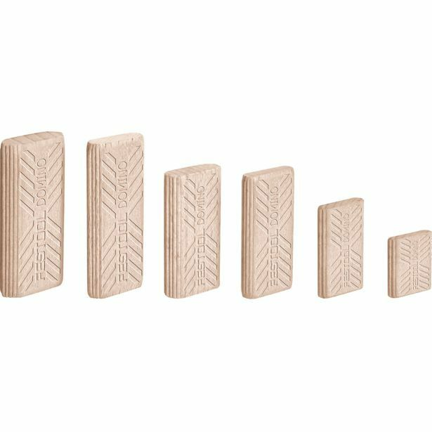 Festool DOMINO BEECH TENONS 6x40mm 190Pieces Dowel Joiner, HardwoodGerman Brand