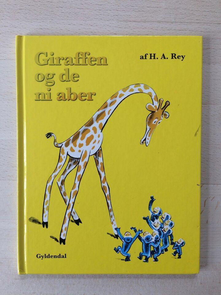 Giraffen og de ni aber, H. A. Rey