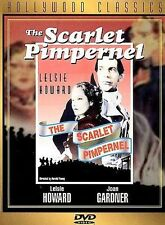 THE SCARLET PIMPERNEL Movie on DVD a CLASSIC of ENGLISH French HISTORY from BOOK