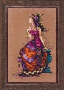 Mirabilia Designs//Nora Corbett chose chart//embellishments Cassiopeia