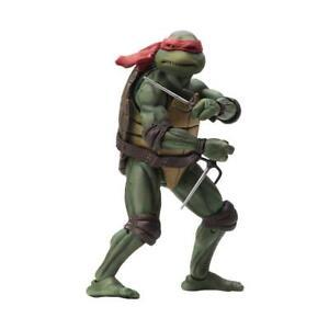 NECA-Teenage-Mutant-Ninja-Turtles-Raphael-1990-Movie-7-034-Action-Figur