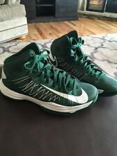 Nike Green And White Hyperdunk 2012 Size 8.5