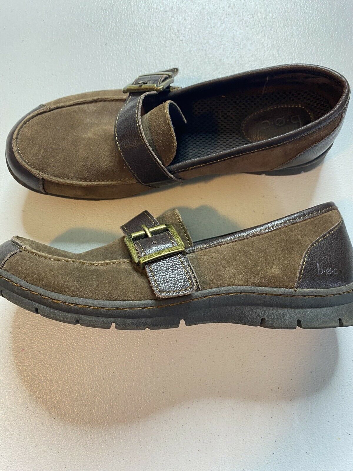 BOC leather loafer size 8 brown
