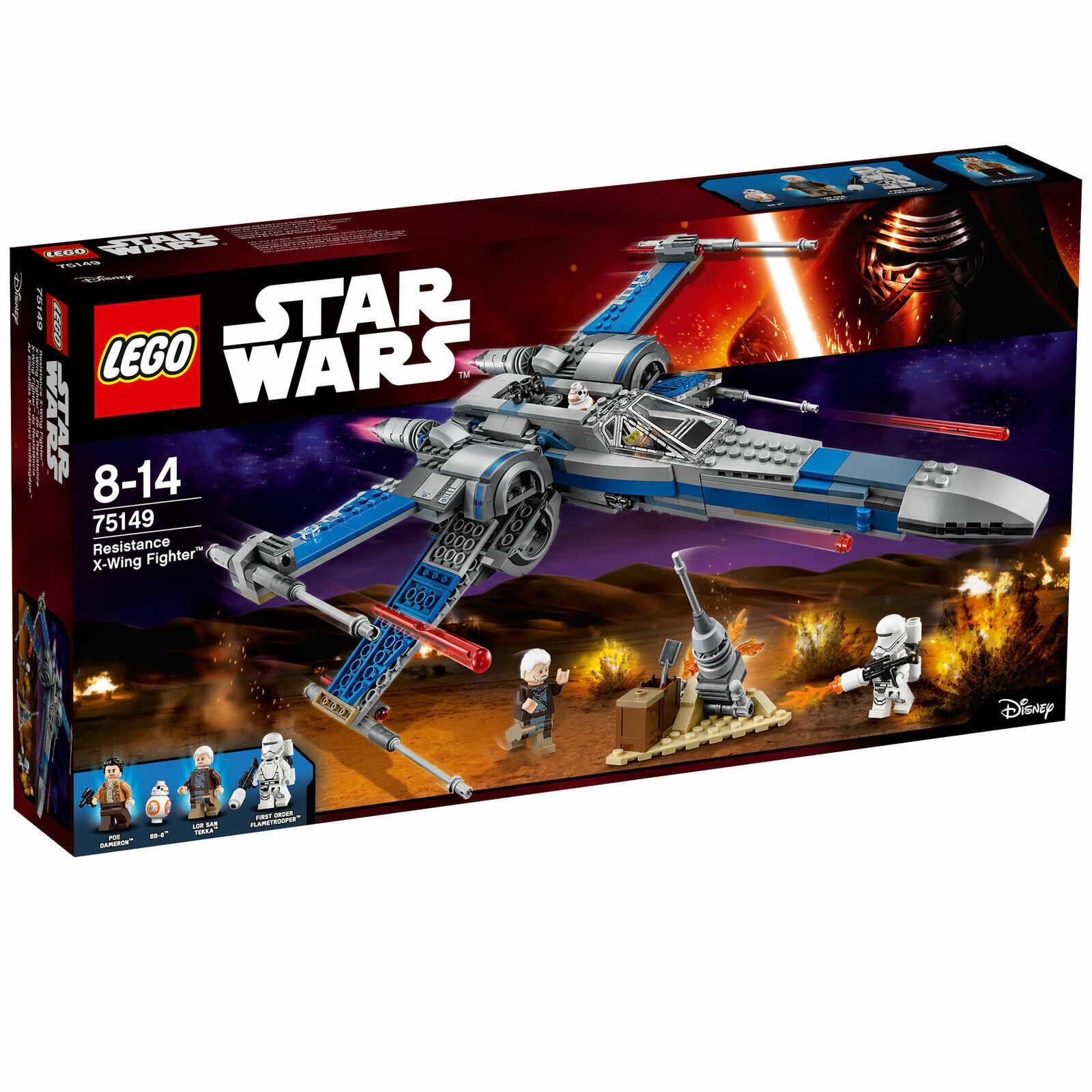 LEGO ® STAR WARS ™ 75149  Resistance X-Wing Fighter ™  NEU&OVP  VERSIEGELT
