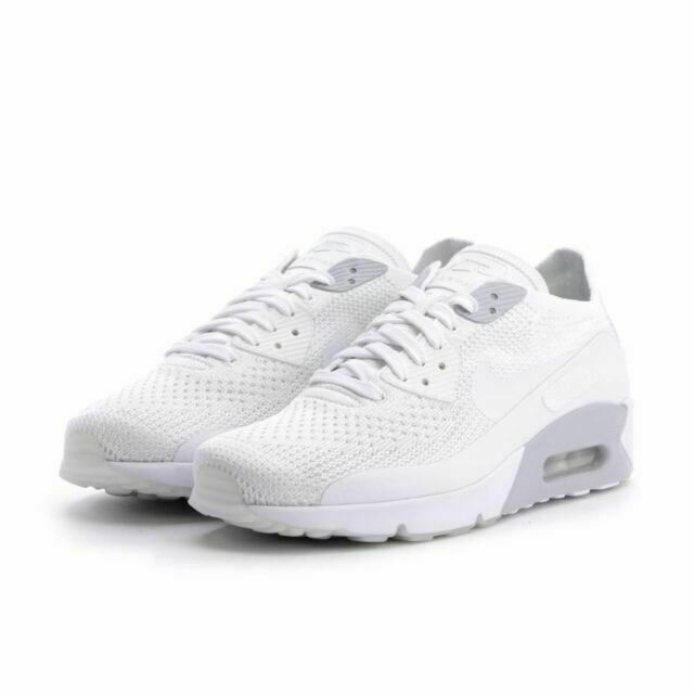 Size 13 - Nike Air Max 90 Ultra 2.0 Flyknit Triple White 2017 for ...
